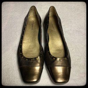 Easy Spirit copper slip on shoes size 10M